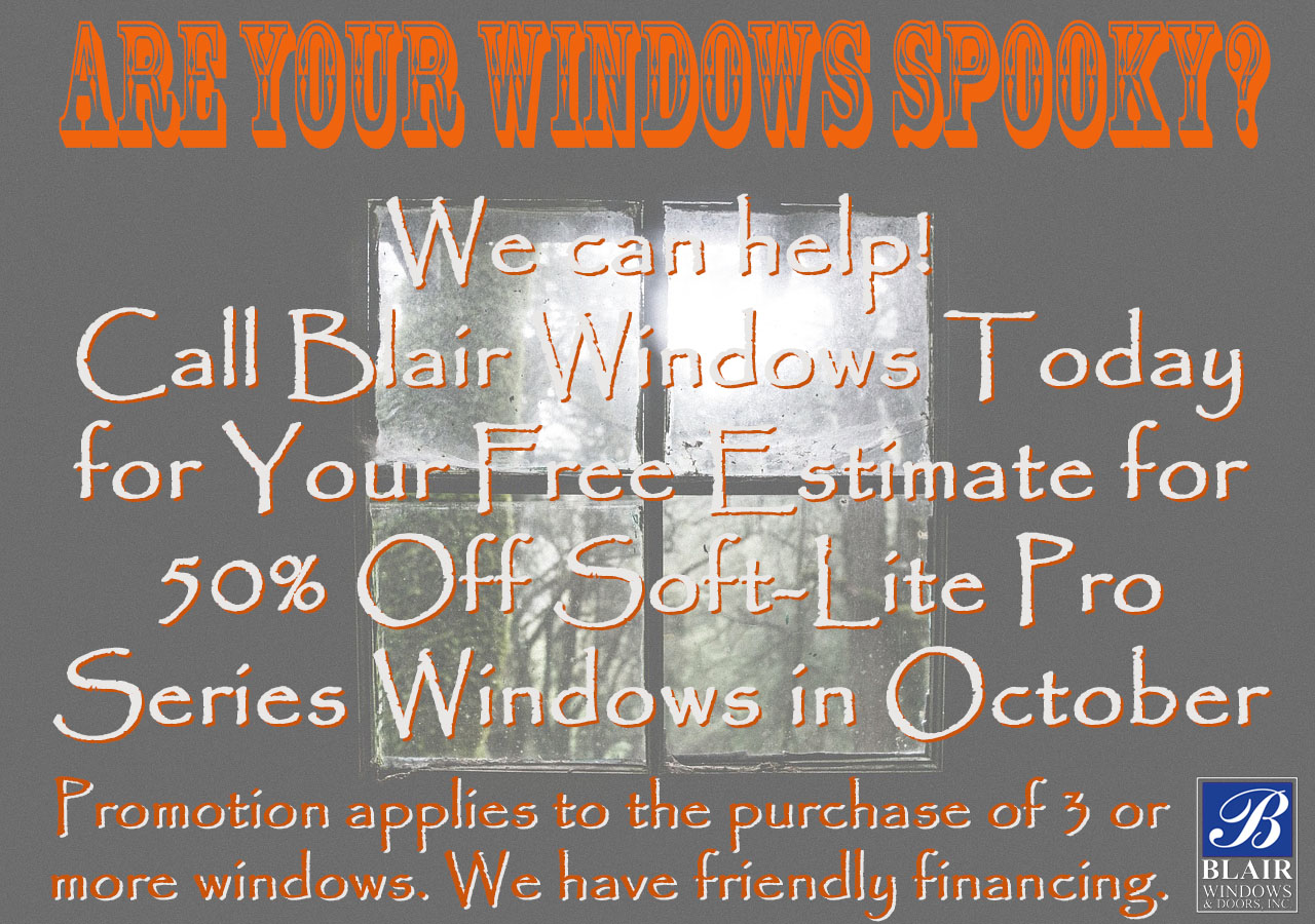 Softlite promotion Blair window sale