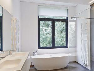 black replacement windows