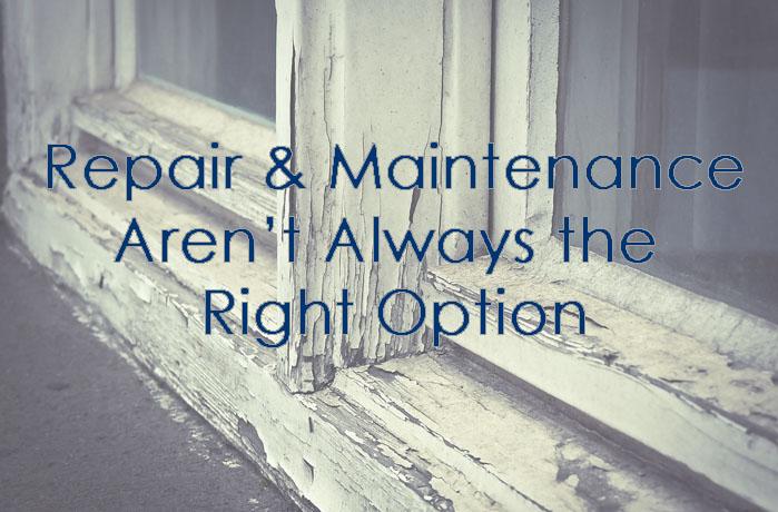 Maintaining & Repairing or Replacing Windows