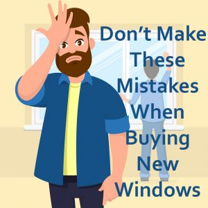 replacing windows mistakes